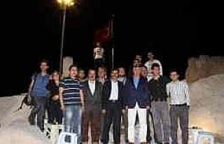 Uçhisar Belediye Başkanı Süslü, Gazetecilerle...