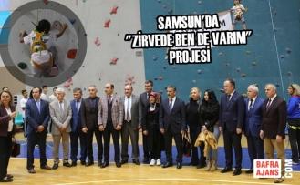 Dağcılar Samsun'da Yetişecek