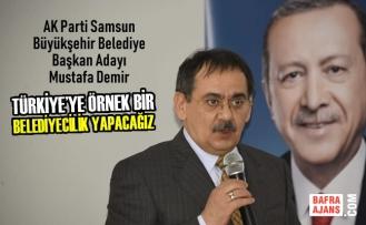 Mustafa Demir'den Alaçam ve Yakakent İlçelerine Ziyaret