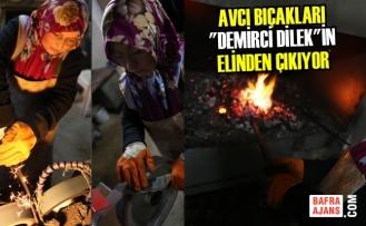 """Avcı Bıçakları """"Demirci Dilek""""in Elinden Çıkıyor"""