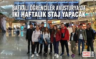 Bafralı Öğrenciler Avusturya Mutfağını Öğrenecekler