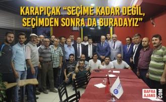 Karapıçak Ve Parti Yöneticileri İstanbul'da Çalışmalarına Son Hız Devam Ediyor
