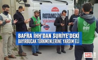 Bafra İHH'dan Bayırbucak Türkmenlerine Yardım Eli