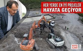 Alt Yapıdan Başlayıp Türkiye'nin Örnek Projelerine Kadar 17 İlçede Tam Mesai