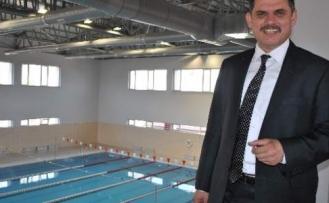 Merzifon'un Yüzme Havuzu Açılışa Hazır