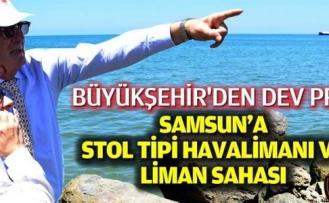 Samsun Büyükşehir'den Dev Proje
