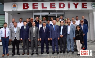 Vali Osman KAYMAK ve Başkan YILMAZ'ın Kavak Ziyareti
