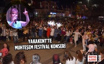 Yakakent'te Muhteşem Festival Konseri