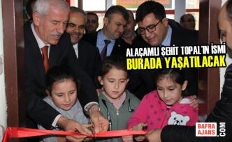 Şehit Muhammet Ali Aksu İlk-Ortaokulu'na Modern Kütüphane