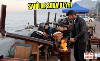 Sahilde Soba Keyfi