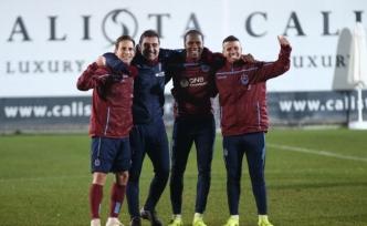 Trabzonspor'da ikinci yarı hazırlıkları