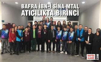 Bafra İbn-İ Sina MTAL Atıcılıkta Birinci