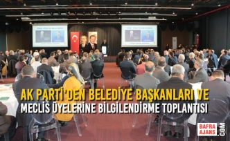 AK Parti'den Yerel Yönetim İstişare ve Bilgilendirme Toplantısı