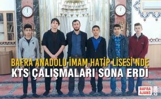 Bafra Anadolu İmam Hatip Lisesi'nde KTS Çalışmaları Sona Erdi