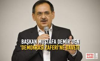 Samsun'da 15 Temmuz Demokrasi Ve Milli Birlik Programı