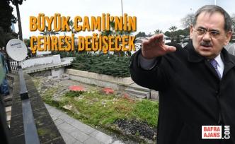 Başkan Demir: Büyük Camii'nin Çevresi Estetik Bir Görünüme Kavuşacak
