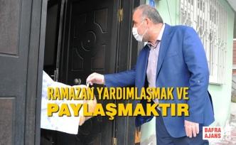 """Sandıkçı, """"Rahmet ve Bereket Ayı Ramazan Şehrimize ve Gönüllerimize Hoş Geldi!"""