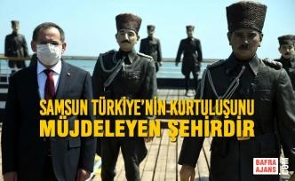 Samsun Türkiye'nin Kurtuluşunu Müjdeleyen Şehirdir