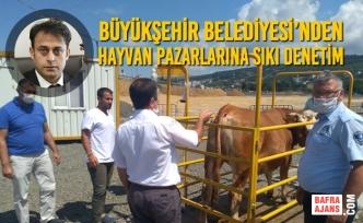 Büyükşehir Belediyesi'nden Hayvan Pazarlarına Sıkı Denetim