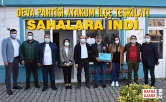 Deva Partisi Samsun Atakum İlçe Teşkilatı Sahalara İndi