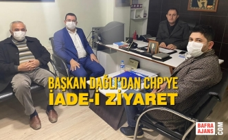 Başkan Dağlı'dan CHP'ye İade-i Ziyaret