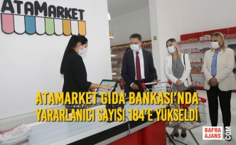 AtaMarket Gıda Bankası'nda Yararlanıcı Sayısı 184'e Yükseldi