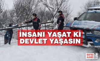 Samsun Jandarma İlaçlarını Evine Kadar Ulaştırdı