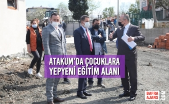 Atakum Belediyesi, Harabe Yapıyı Okula Çevirdi