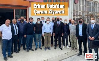 Erhan Usta'dan Çorum Ziyareti