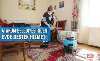 Atakum Belediyesi'nden Evde Destek Hizmeti