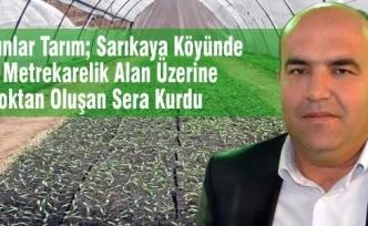 Dursunlar Tarım; 10 Blok Fide Üretim Serası Kurdu