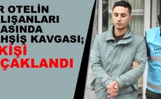 Samsun'da Bahşiş Kavgası: 2 Yaralı