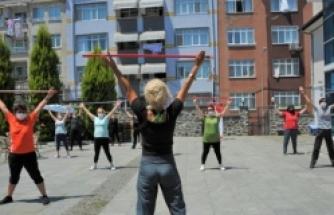 Büyükşehir Belediyesi'nden Kadınlara Özel Spor