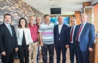 Sınır Komşumuzun Tarım Bakanı Samsun'a Geldi