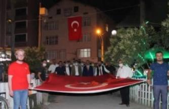 Alaçam'da 15 Temmuz Demokrasi ve Milli Birlik Günü Kutlandı