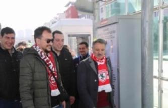 Atakum'dan Samsunspor'a Gönülden Destek