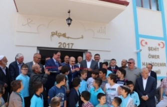 """""""Şehit Ömer Halisdemir"""" ismi verilen cami açıldı"""