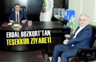 Erdal Bozkurt'tan Teşekkür Ziyareti