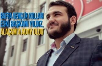Bafra Gençlik Kolları Eski Başkanı Yıldız, Alaçam'a Aday Oldu