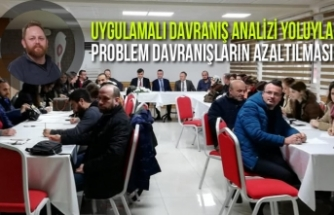 """Bafra'da """"Problem Davranışların Azaltılması"""" Semineri"""