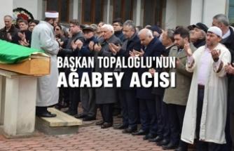 Başkan Osman Topaloğlu'nun Ağabey Acısı