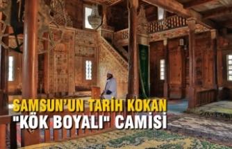 """Samsun'un Tarih Kokan"""" Kök Boyalı"""" Camisi"""