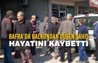 Bafra'da Balkondan Düşen Şahıs Hayatını Kaybetti