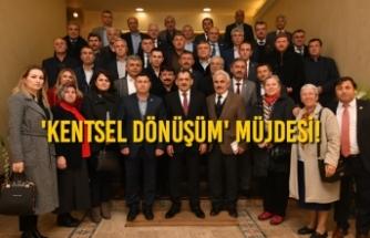Başkan Demir, İlkadımlı Muhtarları Ağırladı