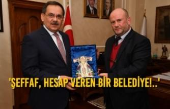 Başkan Mustafa Demir'e Ziyaretçi Akını Sürüyor