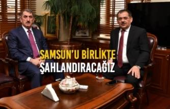 """Demir; """"Samsun'u Birlikte Şahlandıracağız"""""""