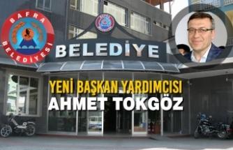 Yeni Başkan Yardımcısı Ahmet Tokgöz