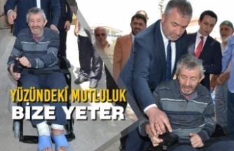 Başkan Topaloğlu'ndan Engelli Vatandaşa Akülü Engelli Aracı