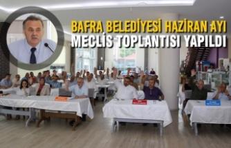 Bafra Belediyesi Haziran Ayı Meclis Toplantısı Yapıldı