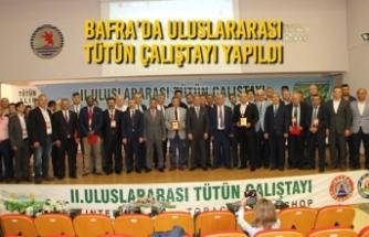 Bafra'da Uluslararası Tütün Çalıştayı Yapıldı